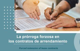 Prórroga forzosa en los contratos de arrendamiento