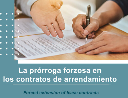 La prórroga forzosa en los contratos de arrendamiento