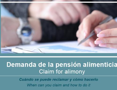 Demanda de la pensión alimenticia, cuándo se puede reclamar y cómo hacerlo