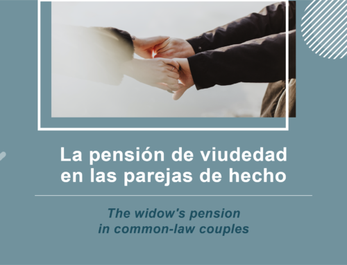 La pensión de viudedad en las parejas de hecho
