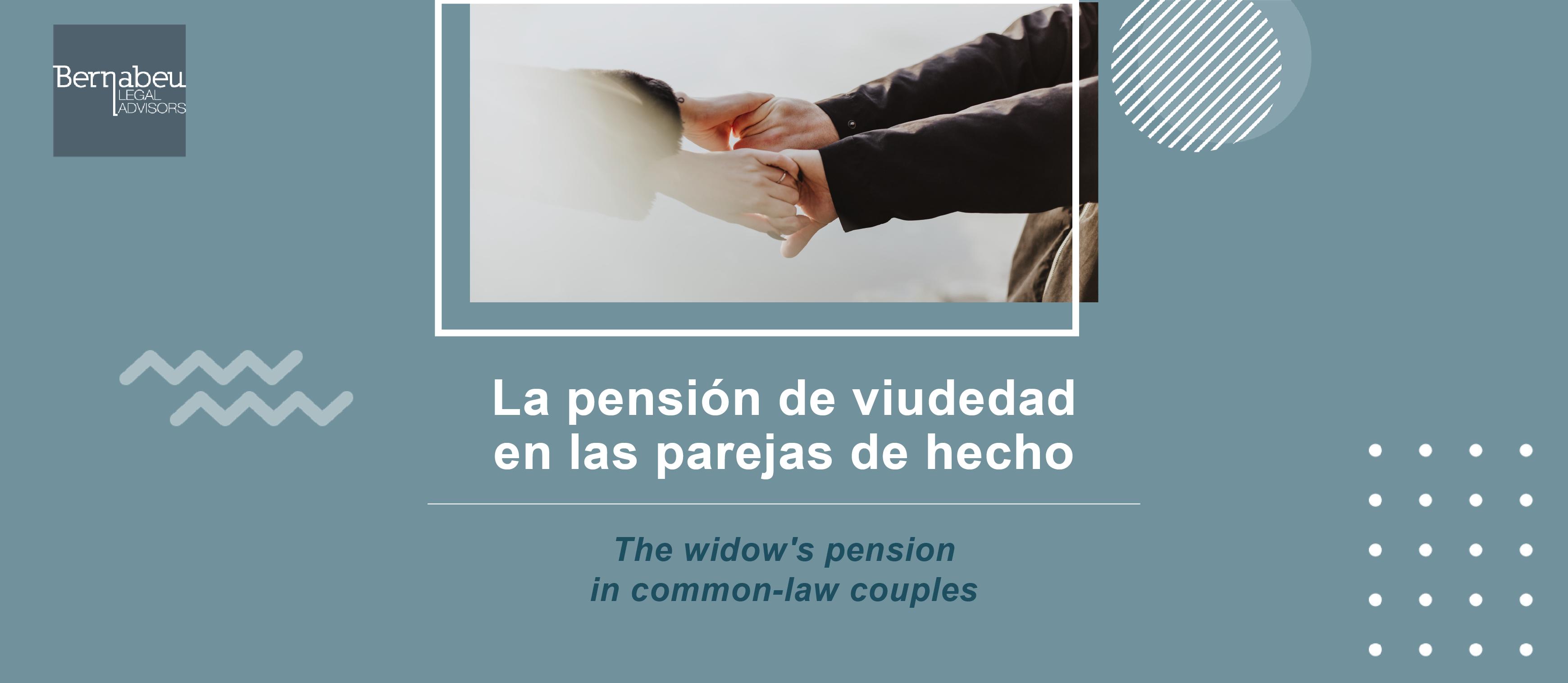 Pensión de viudedad en parejas de hecho